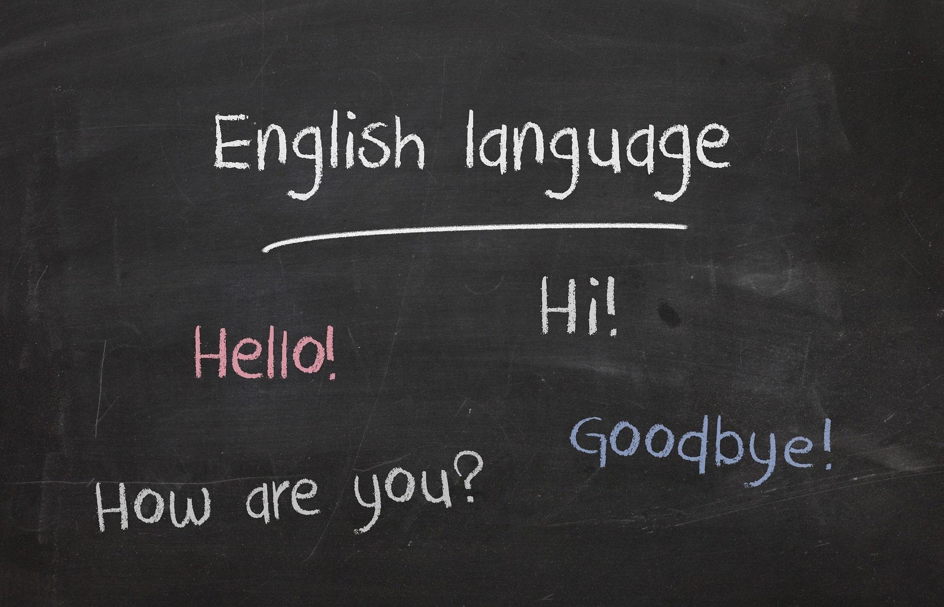 Cours d'anglais au collège
