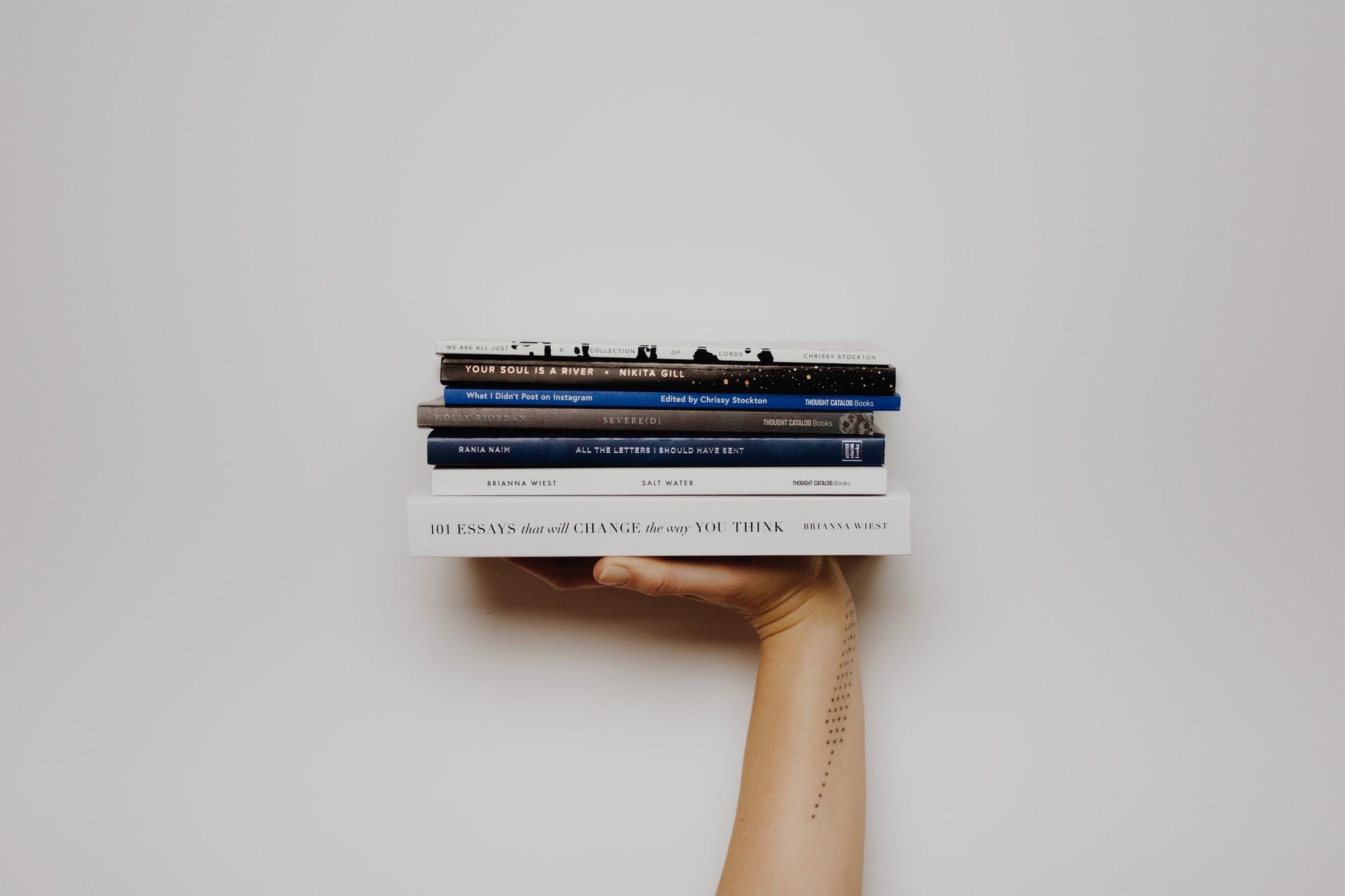 les livres de la littérature