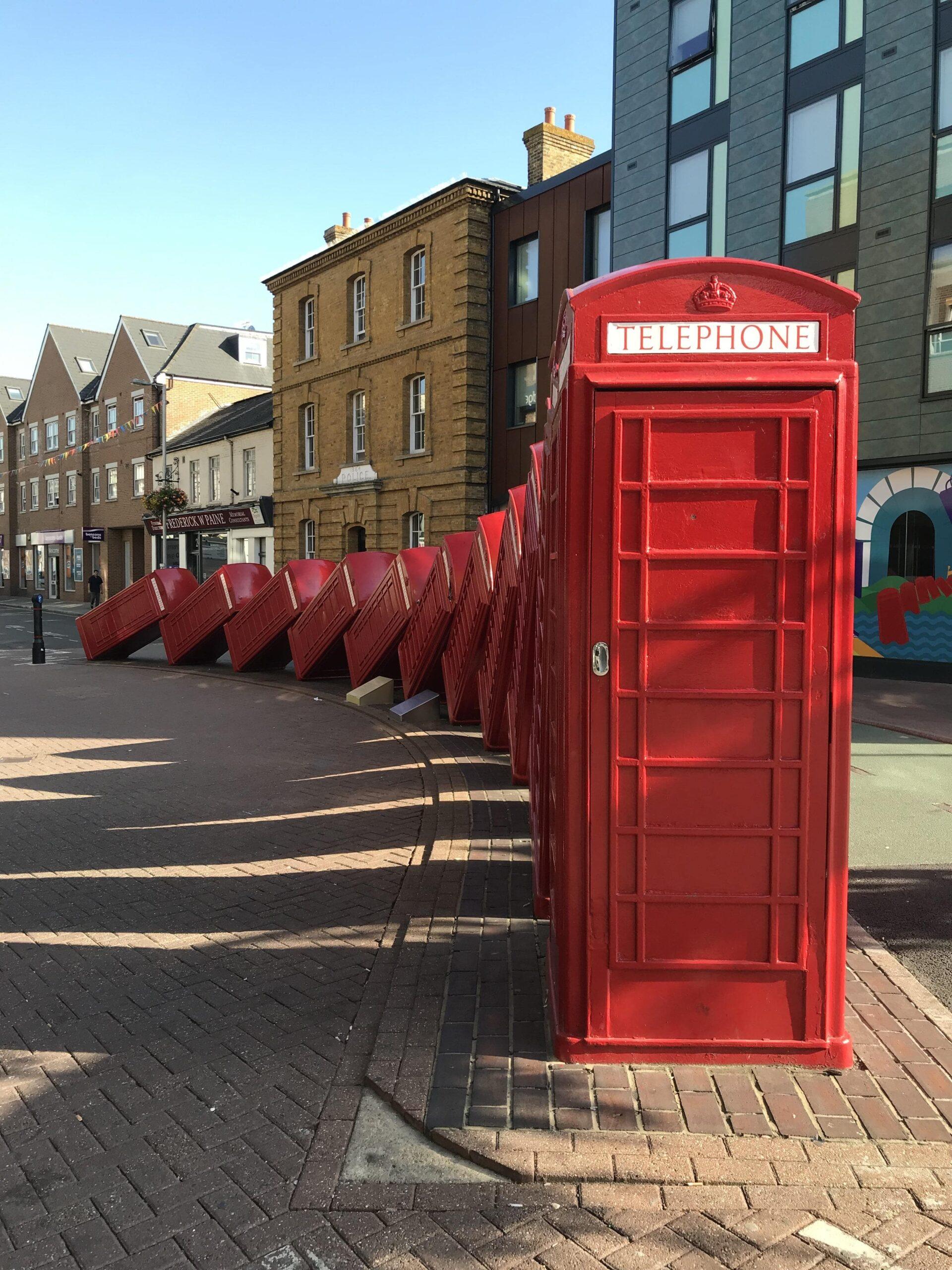 cabine téléphonique rouge d'angleterre