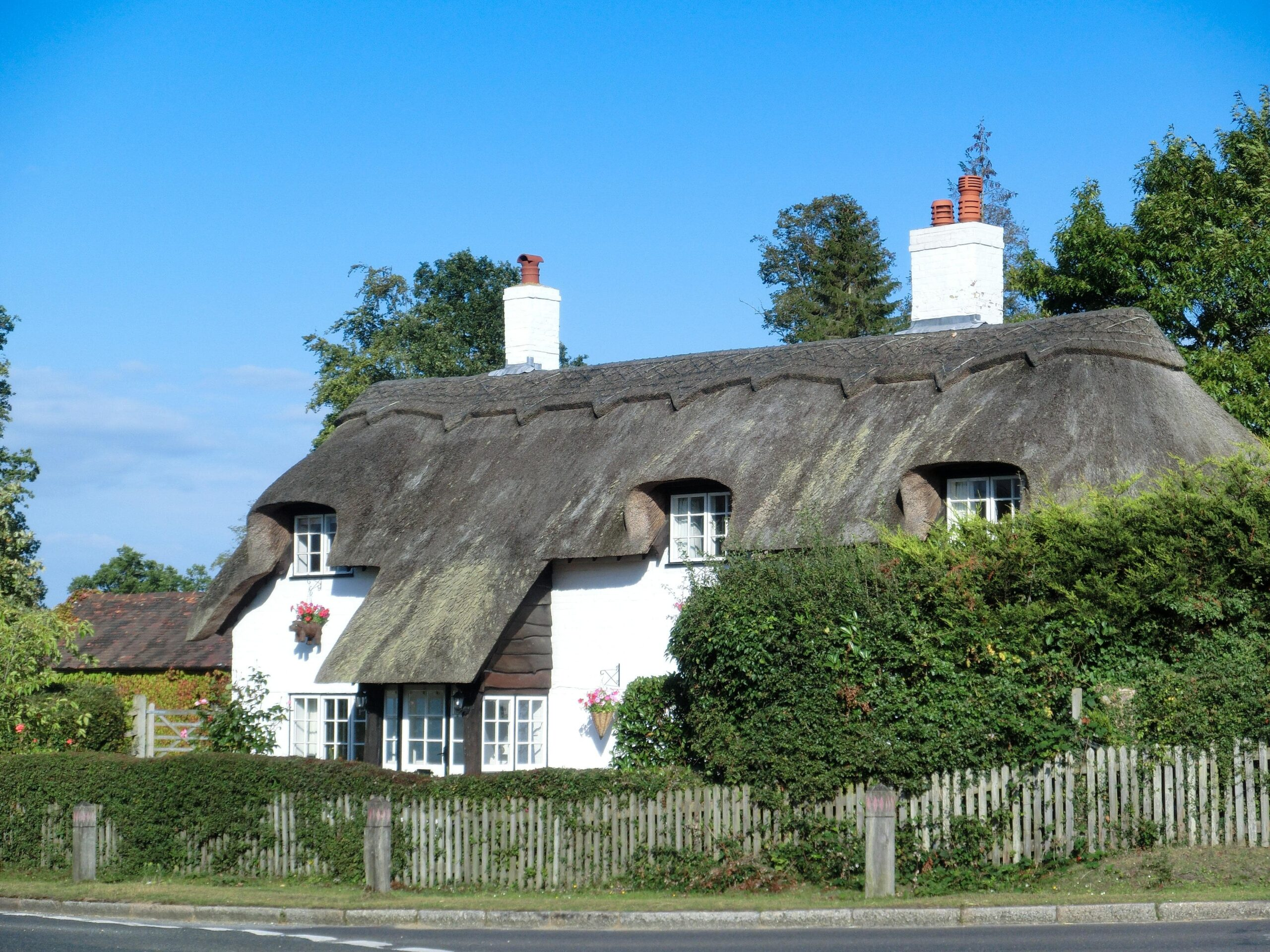 maison typique de la campagne anglaise