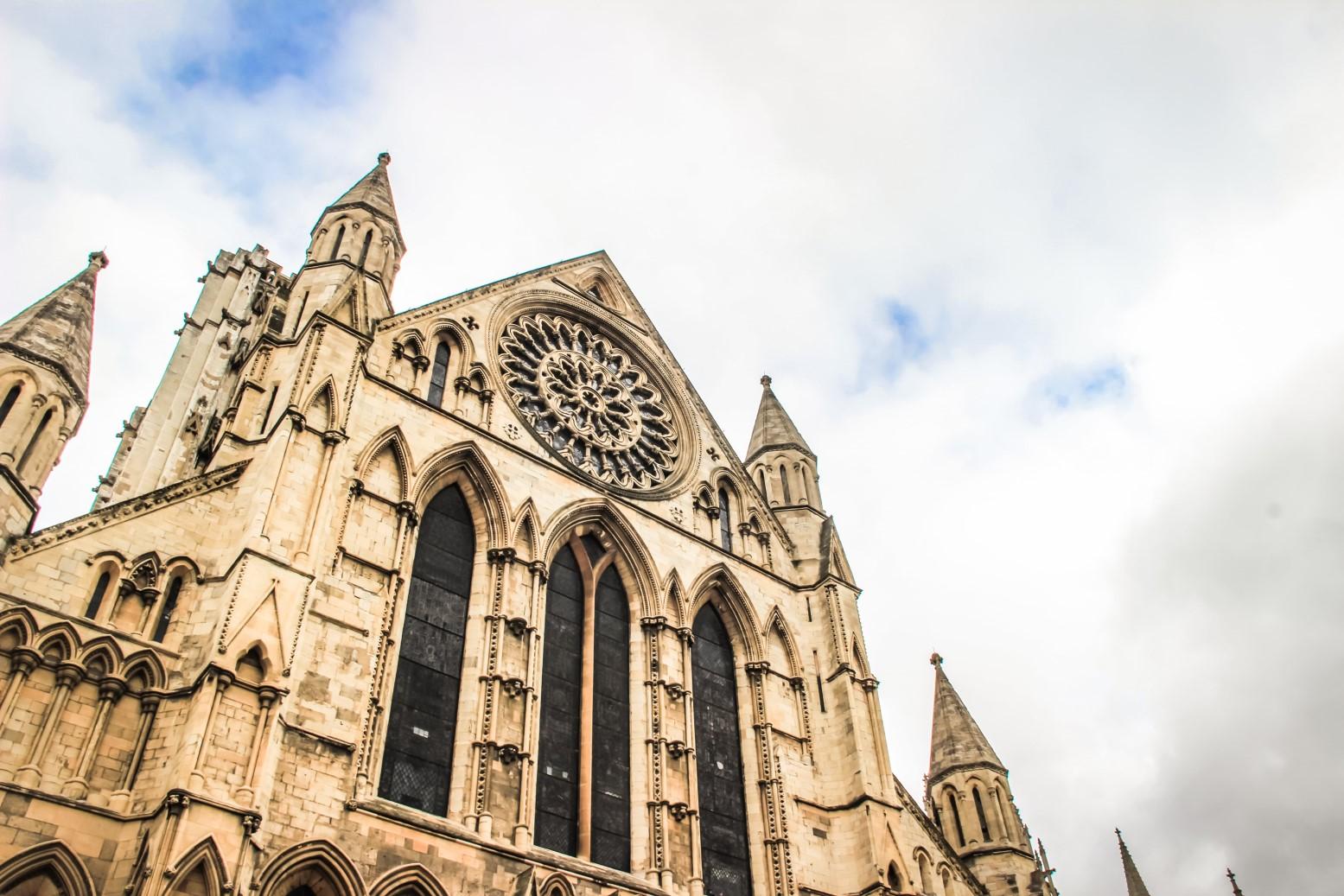 cathédrale d'York en Angleterre