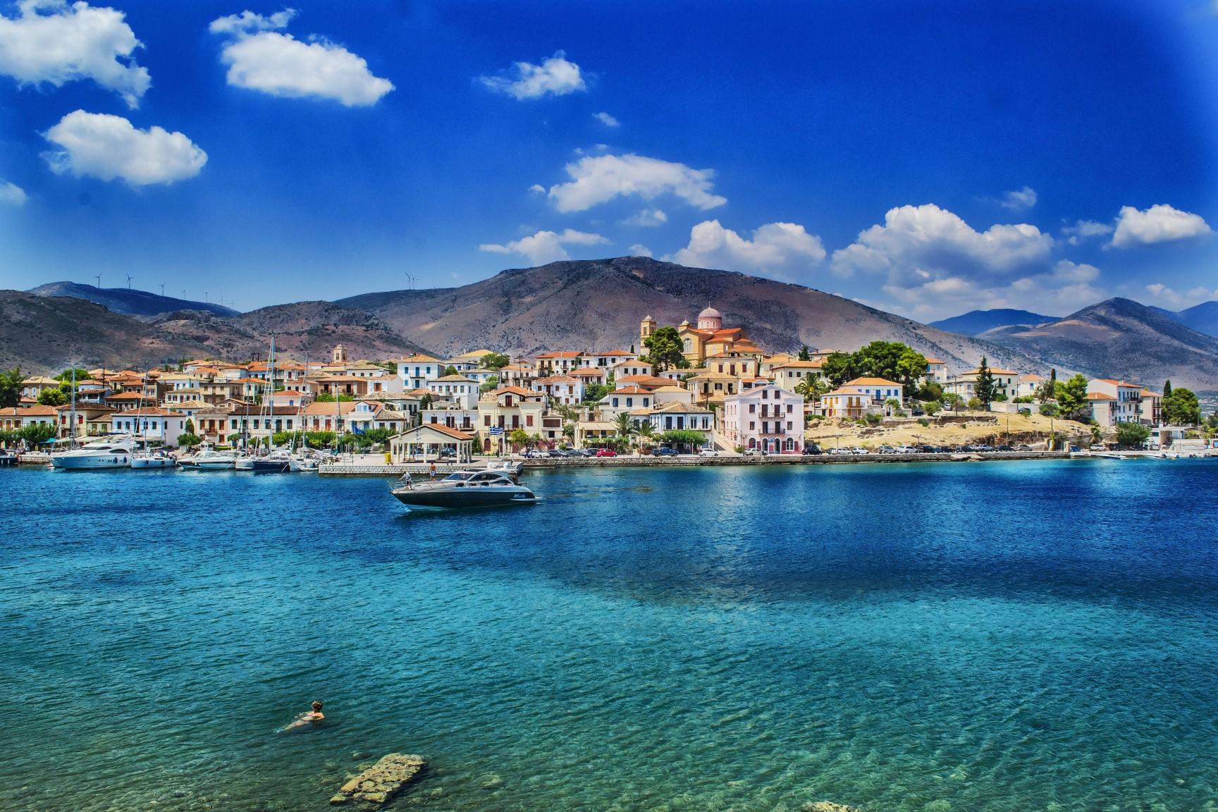 paysage typique de la côte espagnole