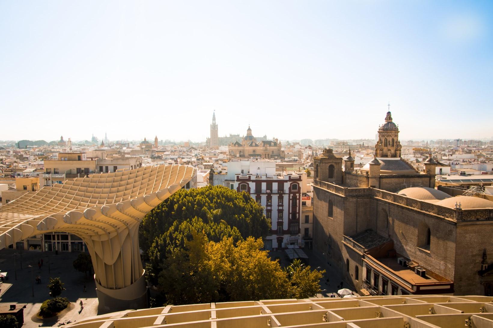 photo des Halles de Séville en Espagne