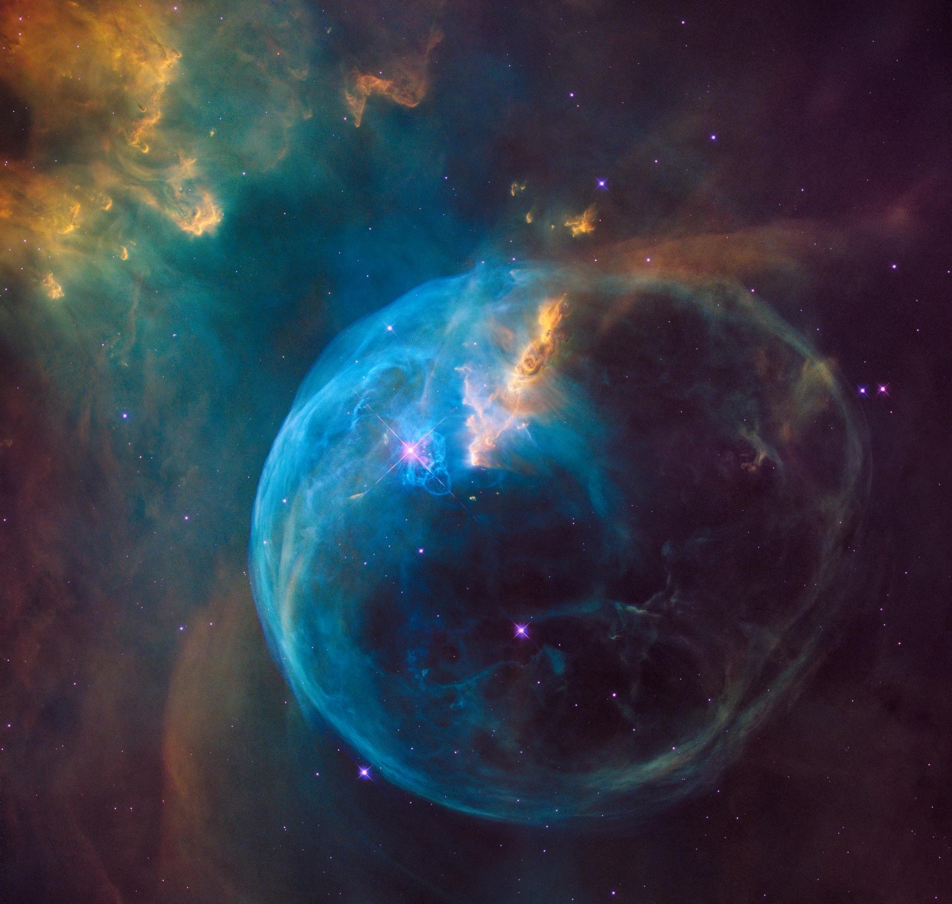 vue du cosmos par la nasa