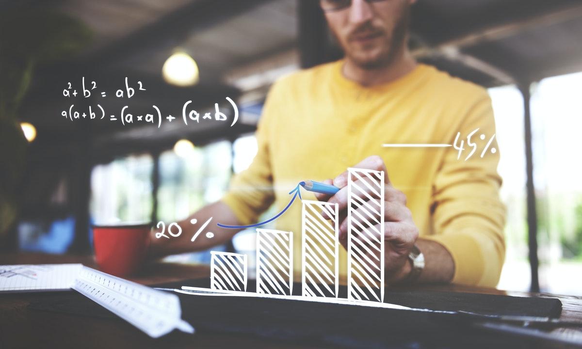 calcul statistique de mathématiques au lycée