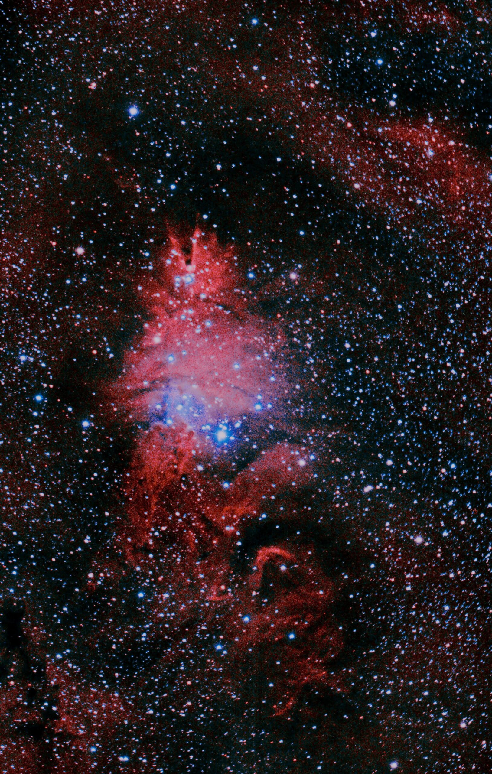 une photo de l'espace